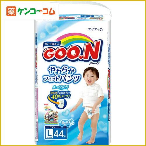 GOO.N大王L码男童纸尿裤44片装