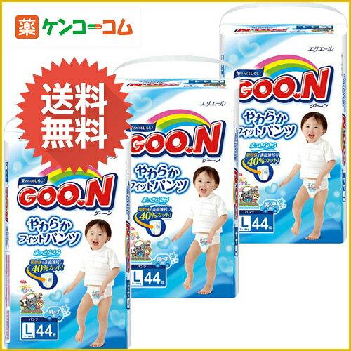 大王短裤式纸尿裤男宝宝 大号L46枚×3