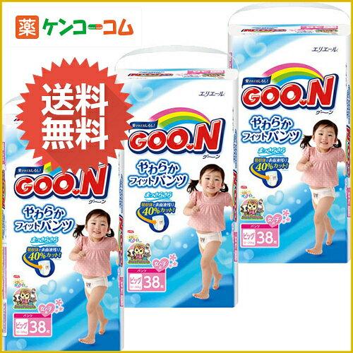 大王短裤式纸尿裤女宝加大号XL40枚×3