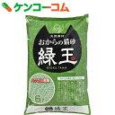 おからの猫砂 緑玉 6L[常陸化工 猫砂・ネコ砂(おから)]