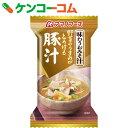 アマノフーズ 味わうおみそ汁 豚汁 15g×10個[アマノフーズ フリーズドライ 味噌汁]