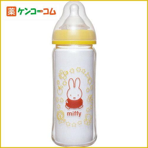 chuchu啾啾miffy婴儿宽口径玻璃奶瓶240ml X型全段奶嘴