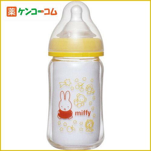 chuchu啾啾miffy婴儿宽口径玻璃奶瓶160mlX母乳实感奶嘴