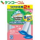 スクラビングバブル トイレスタンプクリーナー フローラルハーブの香り つけかえ用 38g×2本パック[スクラビングバブル 洗剤 トイレ用]【あす楽対応】