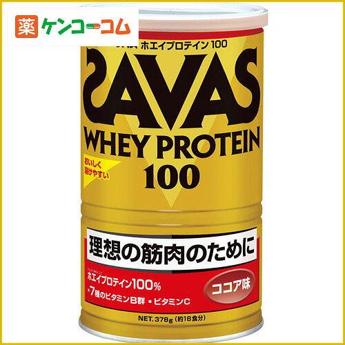 明治 SAVAS 理想肌肉型乳清蛋白粉可可味378g