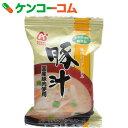 アマノフーズ 無添加 豚汁 12.5g×10個[アマノフーズ フリーズドライ 味噌汁]