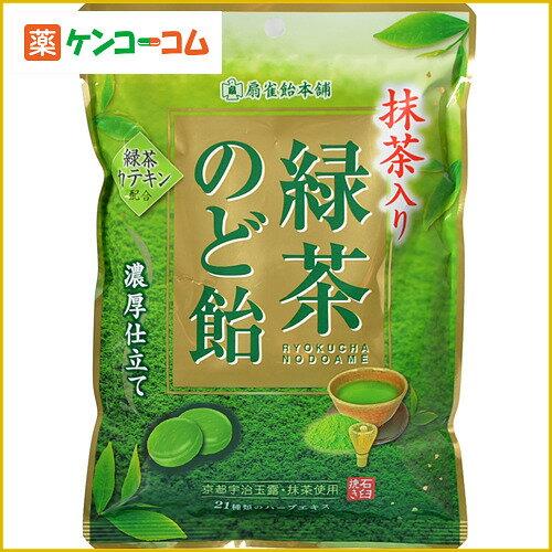 扇雀饴本铺抹茶口味绿茶爽喉糖100g *6袋