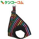 岡野 ONS ストライプソフトハーネス S 黒[ONS 胴輪・ハーネス(犬用)]【あす楽対応】