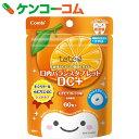 テテオ 口内バランスタブレット DC+ もぎたてオレンジ味 60粒[teteo(テテオ) 歯みがきサプリメント(子供用)]【あす楽対応】