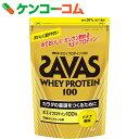 ザバス ホエイプロテイン100 バナナ風味 357g[ザバス(SAVAS) ホエイプロテイン]【送料無料】