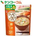 アマノフーズ うちのおみそ汁 豚汁 5食 55g(11g×5食)[アマノフーズ フリーズドライ 味噌汁]【あす楽対応】