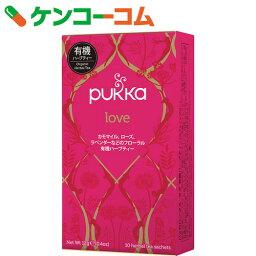 パッカハーブス ラブ 有機ハーブティー 10袋[PUKKA HERBS(パッカハーブス) ローズティー(ローズ茶)]