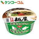 日清 麺屋 高菜とんこつ 73g×12個[日清 麺屋 とんこつラーメン]