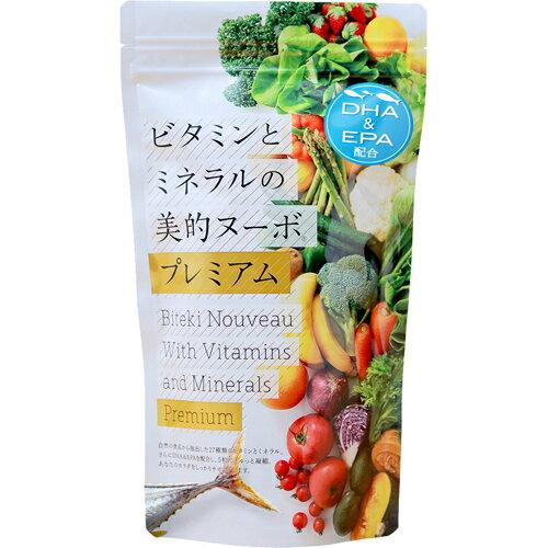 ビタミンとミネラルの美的ヌーボプレミアム 147g[フック 葉酸]【1_k】【あす楽対応】【送料無料】