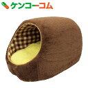 【数量限定】ぬくふかドーム M ブラウン/ブラウンチェック NN-97[ハウスベッド(犬用)]【送料無料】