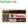 OHM Vアルカリ電池単4形 8本パック LR03/S8P/V[オーム電機 アルカリ乾電池]