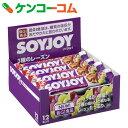 SOYJOY(ソイジョイ) 3種のレーズン 30g×12本[SOYJOY(ソイジョイ) バランス栄養食品・栄養調整食品]【soi01sma】