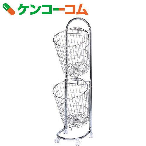 ランドリーバスケット 2段[下村企販 ランドリーバスケット(脱衣カゴ)]【送料無料】