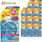 【ケース販売】トップ スーパーNANOX(ナノックス) つめかえ用 特大 950g×12個