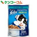フィリックス やわらかグリル 18歳以上用 ゼリー仕立て ツナ 70g×12個入り[フィリックス 猫缶・レトルト(成猫・アダルト用)]【あす楽対応】