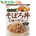 グリコ 菜彩亭 そぼろ丼 140g[グリコ 菜彩亭どんぶり(レトルト)]