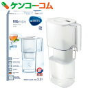 ブリタ ポット型浄水器(1.1L) リクエリ ホワイトメモ BJ-LQW[BRITA(ブリタ) ポット型浄水器]【送料無料】