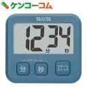 タニタ 薄型タイマー TD-408-BL ブルー[タニタ キッチンタイマー(デジタル)]