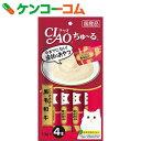 チャオ ちゅーる とりささみ&黒毛和牛 14g×4本[CIAO(チャオ) 流動食]