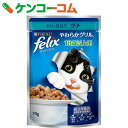 フィリックス やわらかグリル 18歳以上用 ゼリー仕立て ツナ 70g[フィリックス猫缶・レトルト(高齢猫・シニア用)]