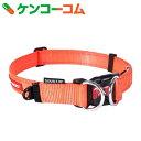 イージードッグ ダブルロックカラー M オレンジ[イージードッグ(EZYDOG) 首輪・カラー(中型犬用)]【あす楽対応】【送料無料】