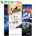 【数量限定】シーバデュオ 冬のごちそう 季節のシーフード味セレクション 20g×12袋[シーバ デュオ ドライフード食(ドライタイプ)]