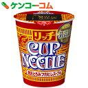 日清 カップヌードル リッチ 贅沢とろみフカヒレスープ味 78g×12個[カップヌードル カップラーメン]【送料無料】