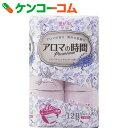 花束 アロマの時間 イングリッシュラベンダーの香り 3枚重ね 12ロール[トイレットペーパー 3枚重ね]【あす楽対応】