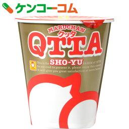 QTTA(クッタ) しょうゆ味 73g×12個[マルちゃん カップ麺]【送料無料】