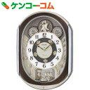 セイコー 電波からくり時計 RE578B[SEIKO(セイコー) 掛け時計]【送料無料】