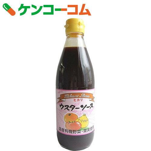 ヒカリ ウスターソース 360ml[ケンコーコム 光食品 ヒカリ ソース]...:kenkocom:10017111