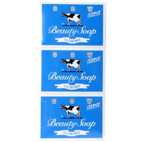 カウブランド 牛乳石鹸 青箱 バスサイズ 135g×3個入[牛乳石鹸 カウブランド 石鹸]...:kenkocom:10313092