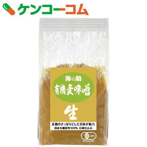 海の精 国産有機麦味噌 1kg[ケンコーコム 海の精 麦味噌]...:kenkocom:10160720