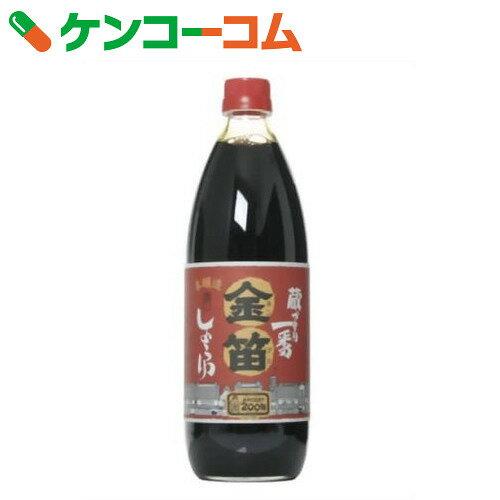 金笛 本醸造 濃口しょうゆ 1L[ケンコーコム 金笛 濃口醤油 しょうゆ]...:kenkocom:10164914