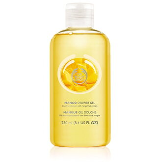 250 ml of THE BODY SHOP mango shower gel upup7