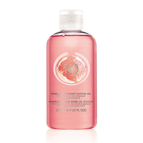 THE BODY SHOP pink grapefruit shower gel 250mlfs3gm