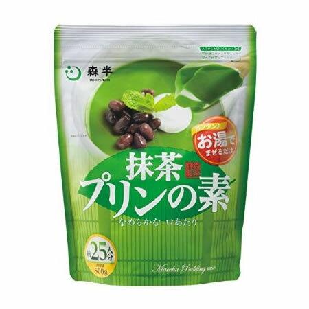 森半 抹茶プリンの素 500g 業務用[共栄製茶...の商品画像
