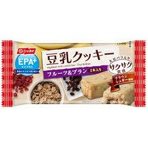 • 憑證分配裡面 ! 10/6 到 1:59 • Nissui EPA 加大豆牛奶餅乾酥脆質感水果 & 米糠 27 g (EPA DHA) (由大豆牛奶餅乾飲食飲食飲食餅乾取代)