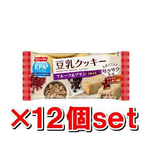Nissui EPA 加大豆牛奶餅乾脆脆的水果 & 米糠 27 gx 12 件套 (EPA DHA) (由大豆牛奶餅乾飲食飲食飲食餅乾取代)