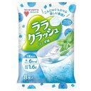 マンナンライフ 蒟蒻畑 ララクラッシュ ソーダ味 24gx8個入x12袋