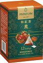 【訳あり:賞味期限2018/12/8】ミントン 和紅茶ティーバッグ 栗 2gx12袋 国産茶葉使用