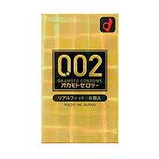 オカモト ゼロツー 0.02ミリ リアルフィット 6個入り (ゼロゼロツー コンドーム)