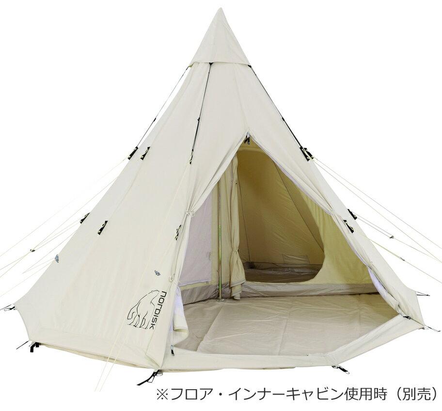 【国内正規品】NORDISK Alfheim 12.6 (6人用ワンポールテント)[142013][アウトドア用品](ノルディスク テント tipi アルヘイム アルフェイム)