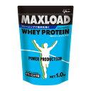 グリコ パワープロダクション MAXLOAD ホエイプロテイン 1kg サワーミルク味 (ホエイ プロテイン マックスロード)