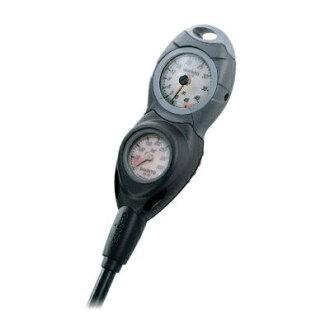 芬蘭松拓 (Suunto) CB-502 衡量 [殘餘壓力錶 SM 36 + 深度計 SM-16] [黑色] 和 [FL2092] 主控台返回和交流不能 upup7